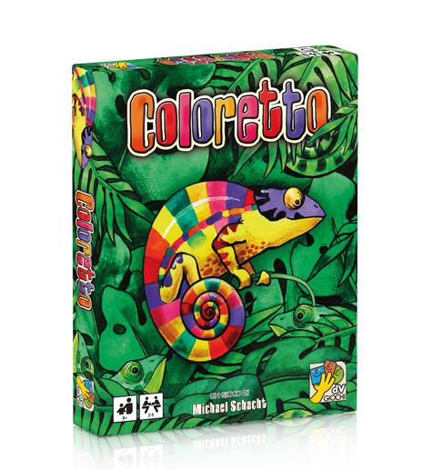 ( dv giochi) Coloretto