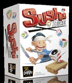 ( ghenos game) Sushi-dice-box